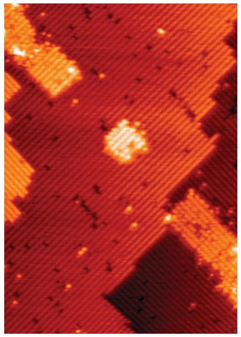 "Figure 1. 7-Atom ""Quantum Dot"" Transistor (Source: UNSW)"