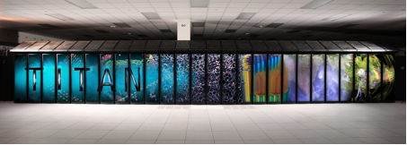 Oak Ridge National Labs' Titan Supercomputer (Photo courtesy of ORNL)