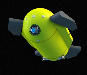 U-CAT is an underwater robot turtle (Source: Tallinn University of Technology)