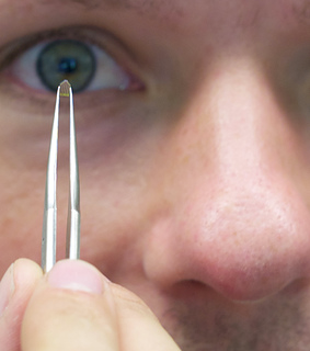 The SwissLitho NanoFrazor Probe (Source: IBM)