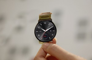 Worlds first circular plastic OLED (P-OLED) display (Source: LG Display)
