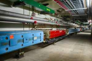 Fermilab's accelerator has achieved a world record for high-energy beams for neutrino experiments. (Source: Fermilab)