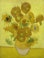 Sunflowers, 1889, Vincent van Gogh (1853-1890). (Credit: Van Gogh Museum, Amsterdam--Vincent van Gogh Foundation)