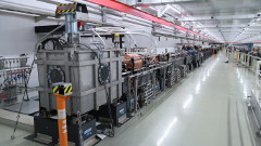 The SCSS accelerator in its new home (Source: Riken)