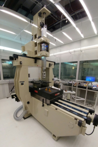 "NIST's new coordinate measuring machine, ""Bob."" (Source: NIST)"