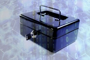 "A sender can ""lock"" a message in a virtual box, and later, can provide a key to open it. (Source: UCLA)"