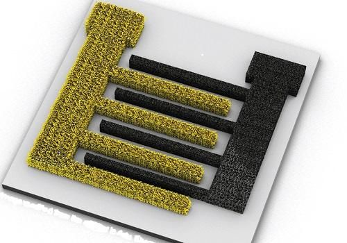 Three-dimensional porous electrodes could lead to smaller and efficient integrated power sources. (Source: KAUST/ John Wiley and Sons)