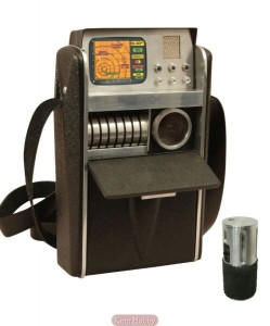 Replica of Star Trek's tricorder (Source: Kirin Hobby)
