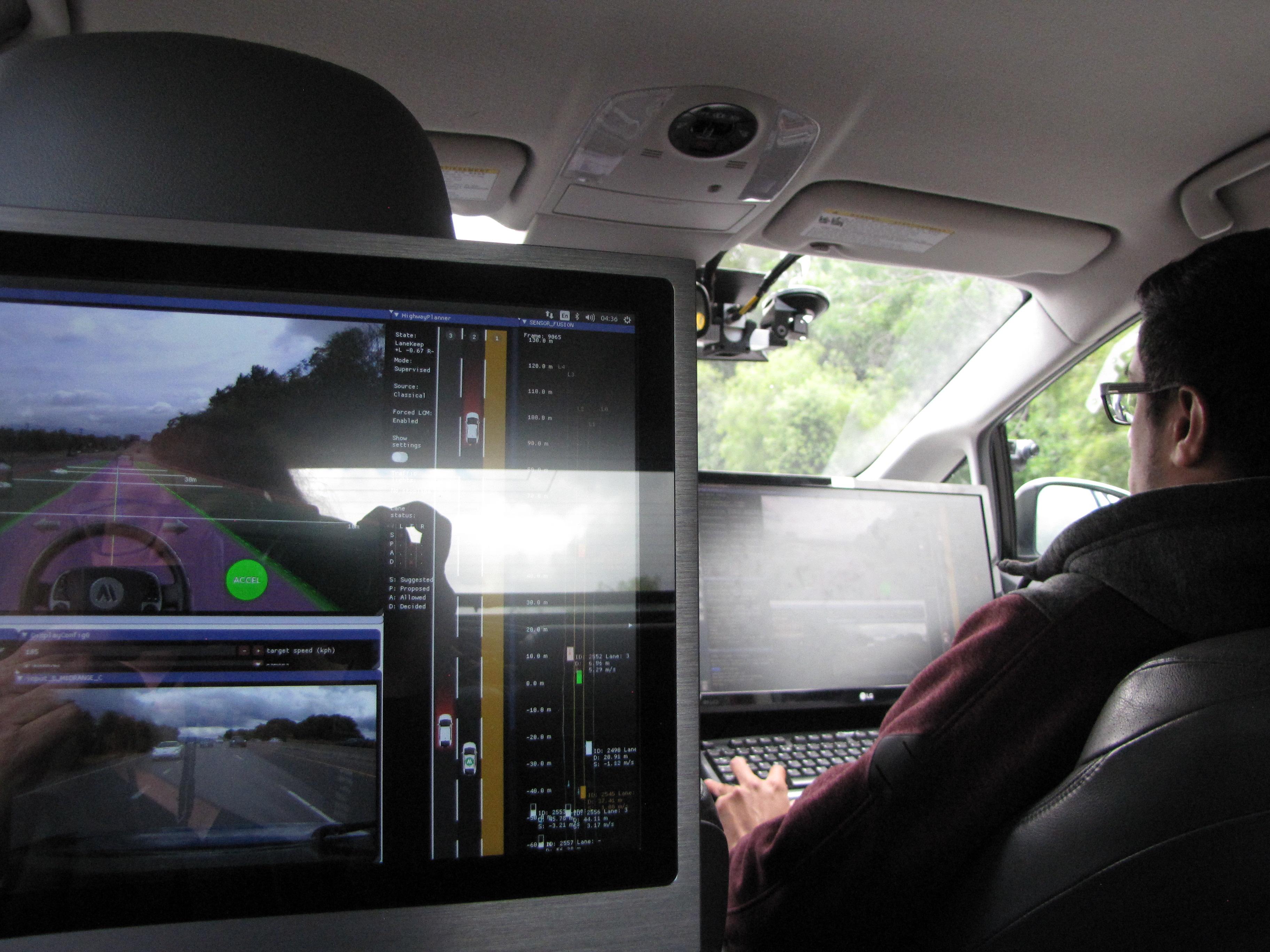 aiMotive self-driving car, 2019